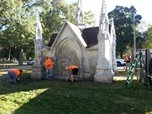 Hurst Home Remodeling Volunteers to Repair Historic Cemetery