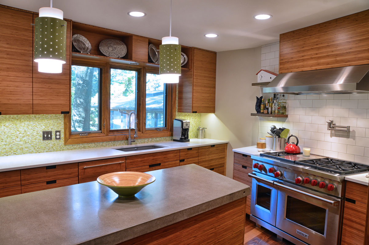 award winning shaker heights kitchen and bathrooms, dining room