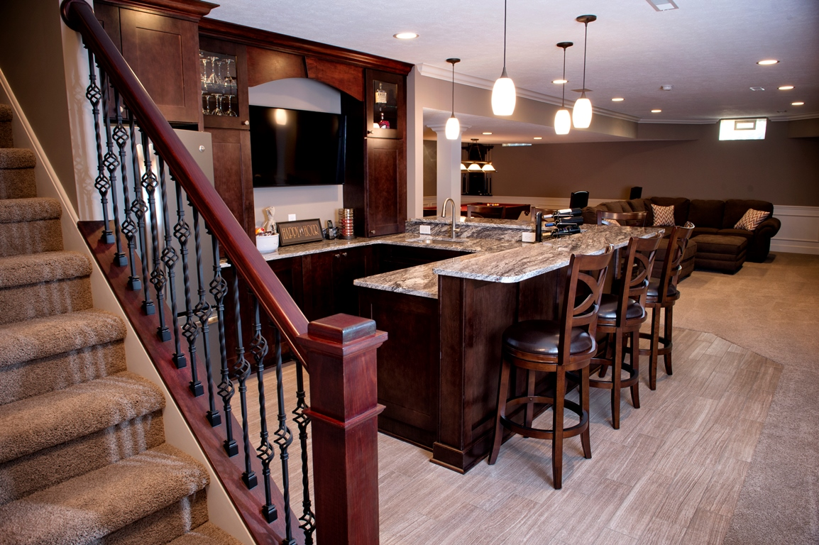 Basement Interior Design Perfect View In Gallery Small Basement Home Office Design And