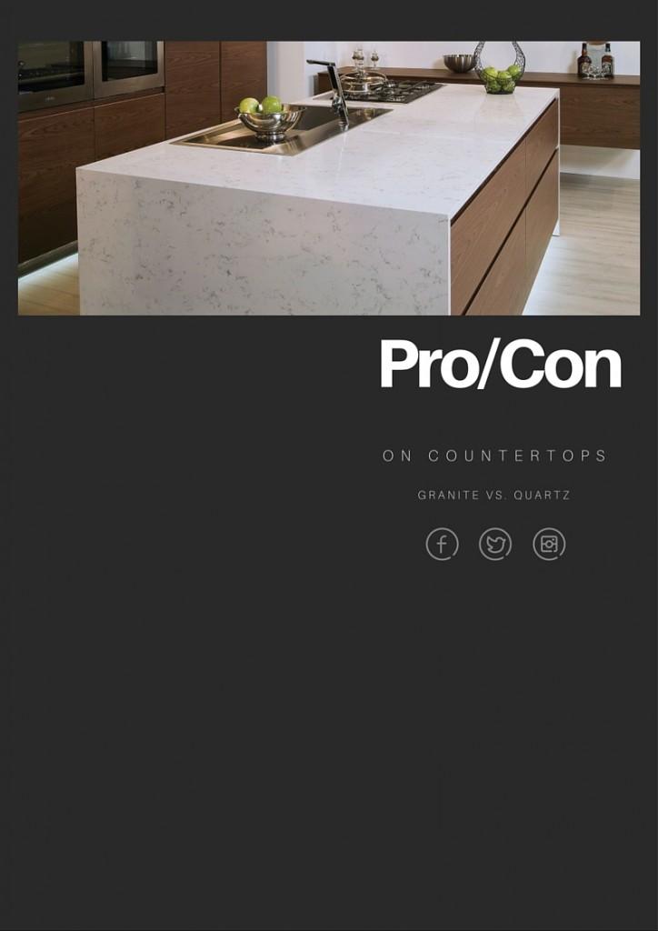 granite vs. quartz countertops for kitchens and baths